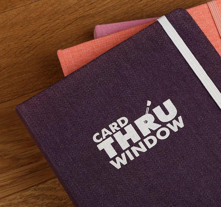 Carnet personnalisé en tissu